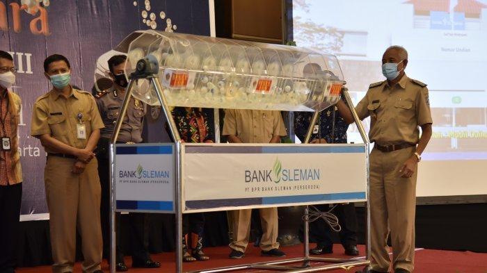 PT BPR Bank Sleman Umumkan Pemenang Undian Tabungan Mutiara Periode XIII