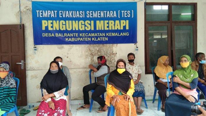 Pengungsi Gunung Merapi di TES Balerante Klaten Berencana untuk Pulang ke Rumah Rabu Depan