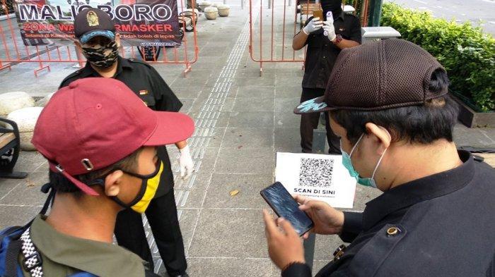Pengunjung Malioboro Diharapkan Unduh QRcode Scanner