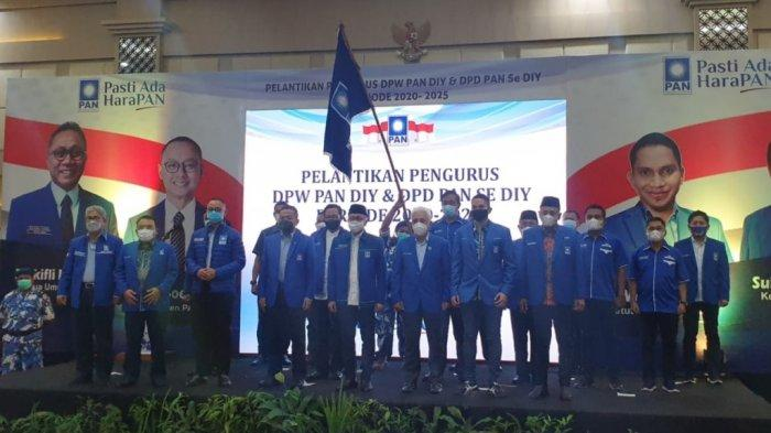 Pengurus DPW dan DPD PAN se-DIY Resmi Dilantik, Deretan Elit Partai Hadir Langsung