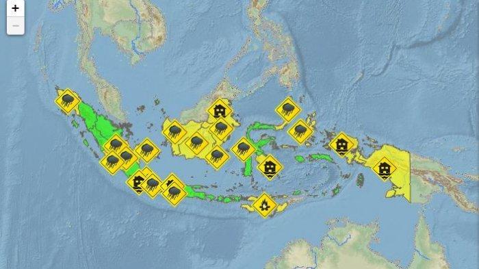 Penjelasan BMKG HUJAN Merata di Pulau Jawa, Bacalah Doa Ini Agar Diberi Keselamatan