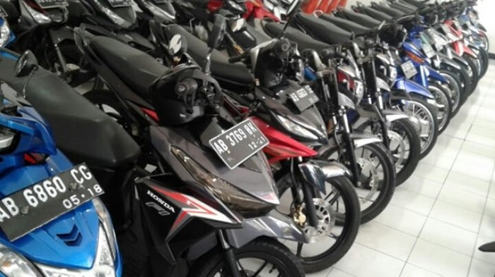 Penjualan motor bekas di wilayah Yogyakarta mengalami kelesuan