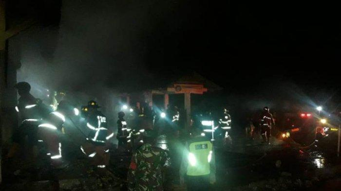 Tiga Kios Ludes Terbakar, Pemkab Magelang Segera Perbaiki Pasar Kaponan