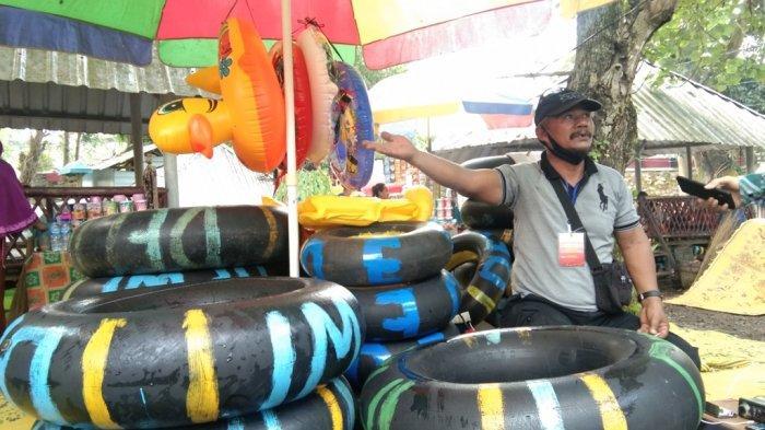 Umbul Cokro Klaten Kembali Beroperasi, Omzet Persewaan Pelampung Ban Banjir Order