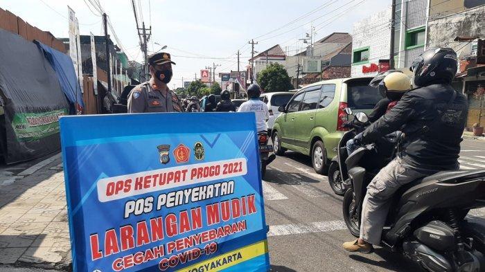 Posko Penyekatan Aktif Hari Ini, Kendaraan Dalam Kota Turut Diperiksa Satlantas Polresta Yogyakarta