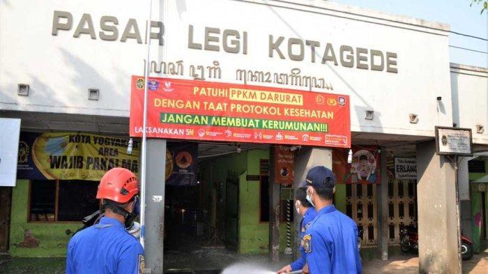 Pasar Tradisional Non Esensial di Kota Yogyakarta Kembali Ditutup hingga 25 Juli 2021