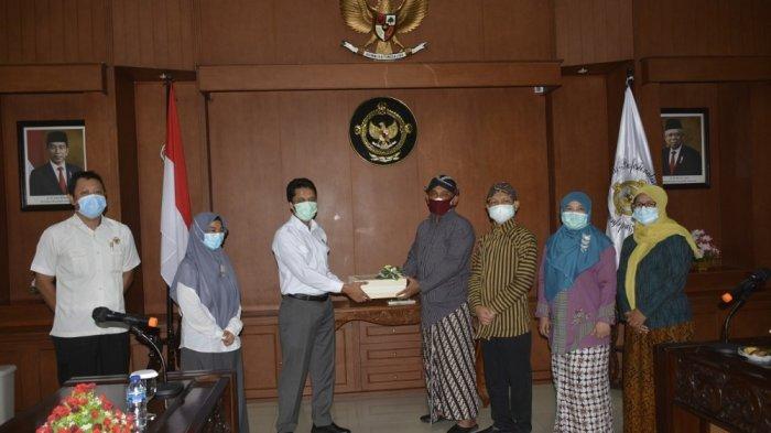 Penyerahan LKPD Kabupaten Sleman Tercepat di DI Yogyakarta