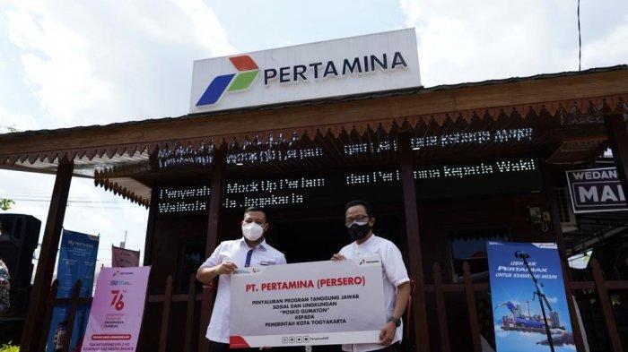 Pertamina Dirikan Posko Gumatonuntuk Tingkatkan Pariwisata Malioboro di Masa Pandemi