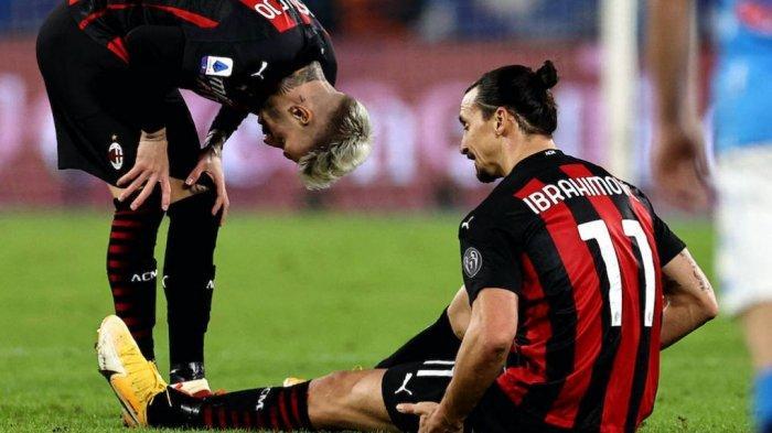AC MILAN Terpaksa Mainkan Ibrahimovic Lawan Fiorentina karena Alasan Ini