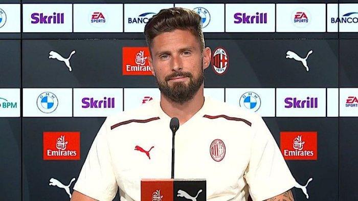 AC MILAN: Soal Mitos Kutukan Nomor 9, Ini Tanggapan Cerdas Olivier Giroud