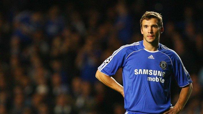 Penyerang Chelsea, Andriy Shevchenko