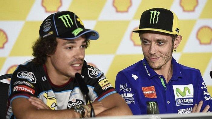 Peran Besar Valentino Rossi di Balik KemenanganMorbidelli di MotoGP, Ini Pengakuan Franky