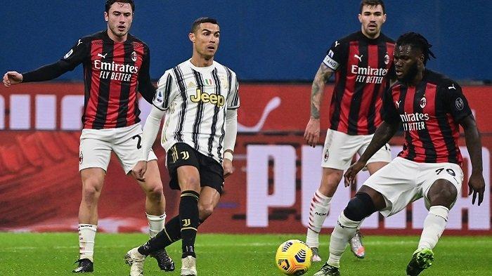 Siaran Langsung Liga Italia JUVENTUS vs AC MILAN di TV Live Streaming BeIN SPORTS 2 - Daftar Pemain