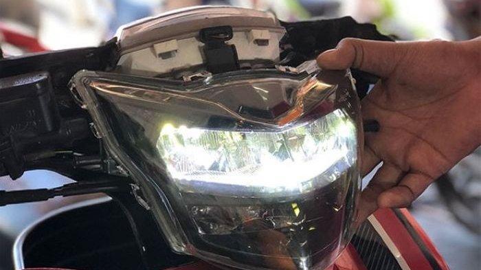 TIPS MOTOR : Cara Merawat Headlamp LED Setelah Terendam Banjir, Simak Di Sini