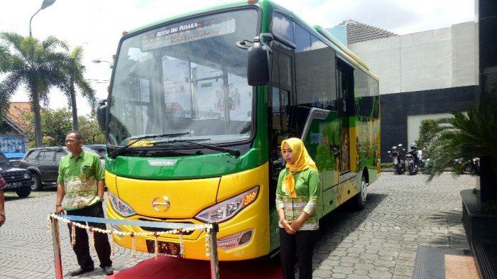 Operator Trans Jogja Segarkan Tampilan Bus