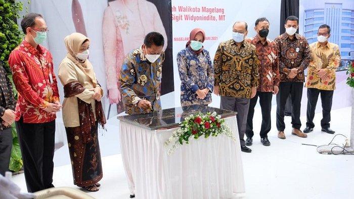 Wali Kota Magelang Resmikan Gedung 8 Lantai RSUD Tidar dengan Nama Drs. H. A Bagus Panuntun
