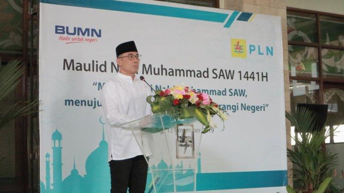 Peringati Maulid Nabi Muhammad SAW, PLN Berikan Santunan kepada 50 Anak Yatim