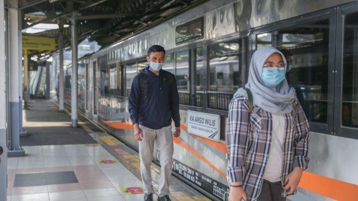 KAI Daop 6 Yogyakarta Mencatat 8.929 Penumpang Kereta Api Selama Periode 5-17 Mei 2021