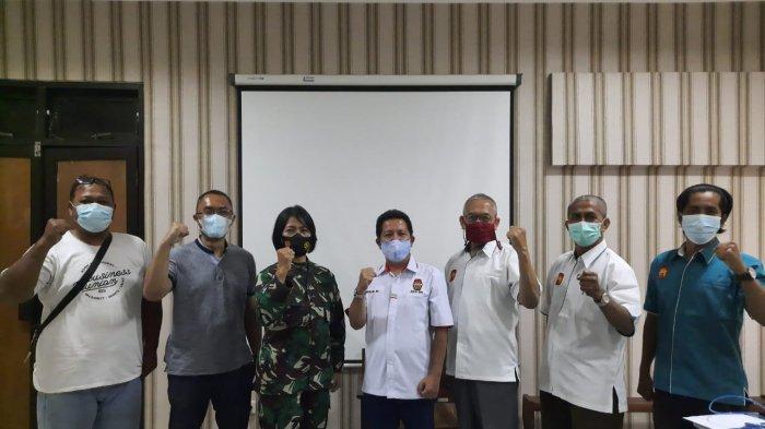 Pengurus Daerah Perkumpulan Sambo Indonesia (Persambi) DIY Beraudiensi dengan KONI DIY