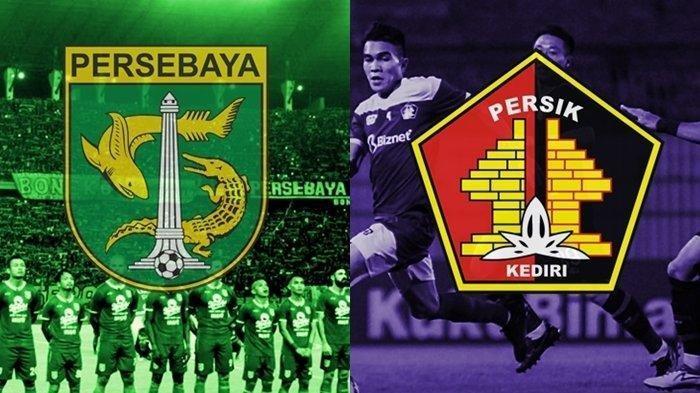 Siaran Langsung Liga 1 2020 Persebaya Surabaya vs Persik Kediri - Kick Off 18.30 WIB, LIVE Indosiar
