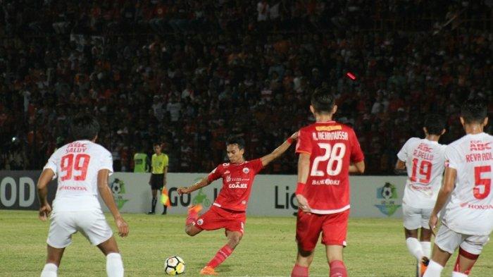 Gol Novri Setiawan di Menit 90+4 Menangkan Persija Jakarta Atas Tuan Tumah Borneo FC