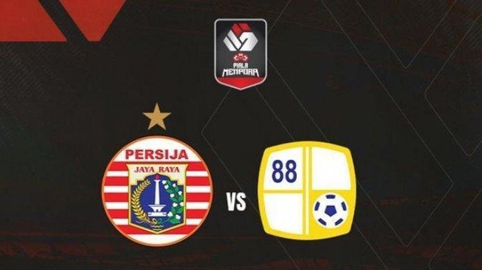 LIVE Streaming Persija vs Barito Putera, Siaran Langsung Indosiar Perempat Final Piala Menpora 2021