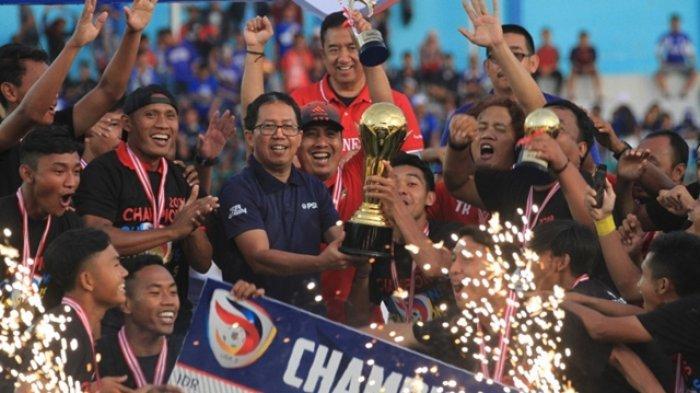 Hasil Persita vs Persik Berakhir Skor 2-3, Persik Kediri Juara Liga 2 2019