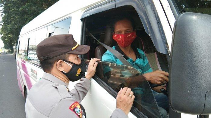 Penyekatan di Pos Polisi Prambanan Klaten, Dua Mobil Diminta Putar Balik ke Arah DI Yogyakarta