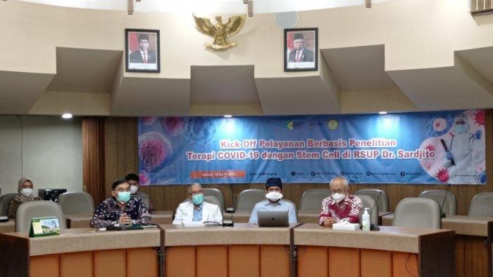 Pertama di Indonesia, RSUP Dr Sardjito Kembangkan Terapi Sel Punca pada Pasien COVID-19