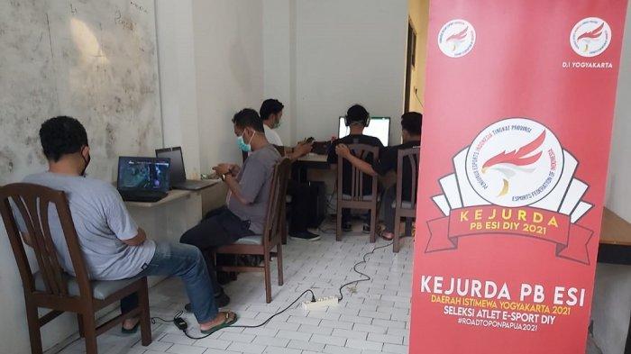 Pertandingan Mobile Legend di Kejurda eSport DIY Sudah Masuk Putaran Final