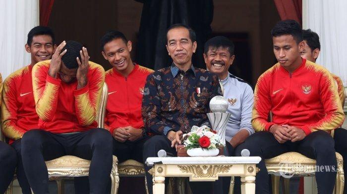 Pesan-pesan Presiden Jokowi untuk PSSI Jelang Persiapan Piala Dunia U-20 2021