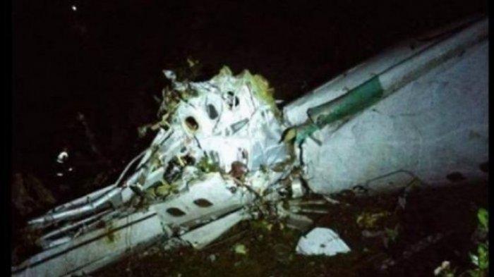 Ilustrasi: Pesawat yang membawa tim sepak bola Brasil, Chapecoense Real, jatuh di Kolombia, Senin (28/11/2016) pukul 22.15 waktu setempat.