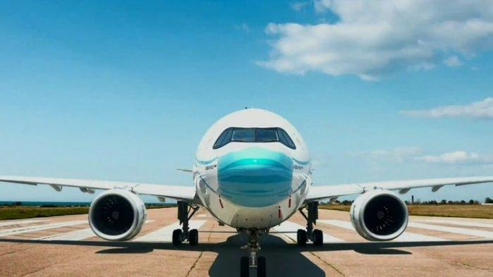 Ketika Pesawat-pesawat Milik Garuda Indonesia Menggunakan Masker . . .