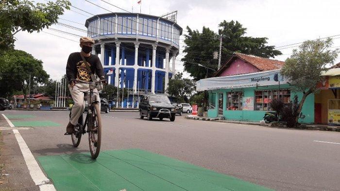 Pegiat Sepeda di Kota Magelang Kritik Jalur Sepeda di Sisi Kanan, Sebut Kurang Aman