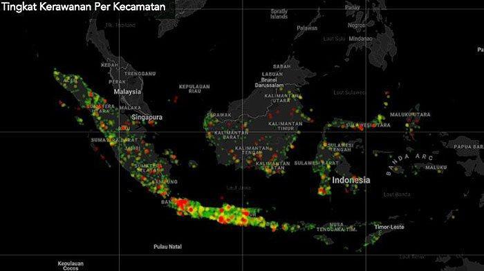 Peringkat Jumlah Pasien Virus Corona Indonesia Dibandingkan Negara Lain di Dunia