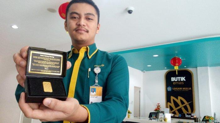 Harga Emas Hari Ini : Emas Batangan Antam Ukuran 2 Gram Di Pegadaian Dibanderol Rp 1.921.000