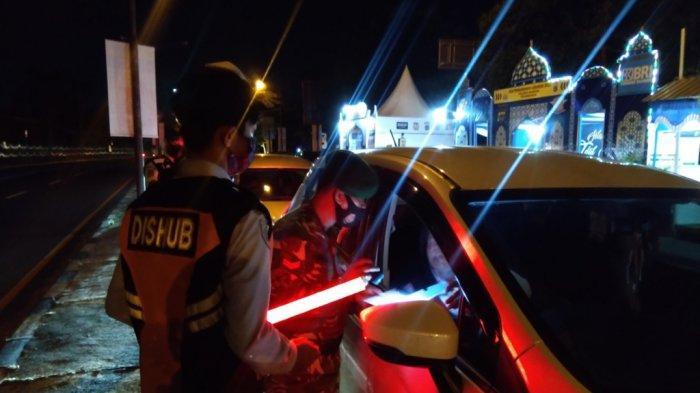 Total 7.000 Kendaraan Melintas di Pos Pengamanan Prambanan Sleman Pada 6 Mei 2021 Malam