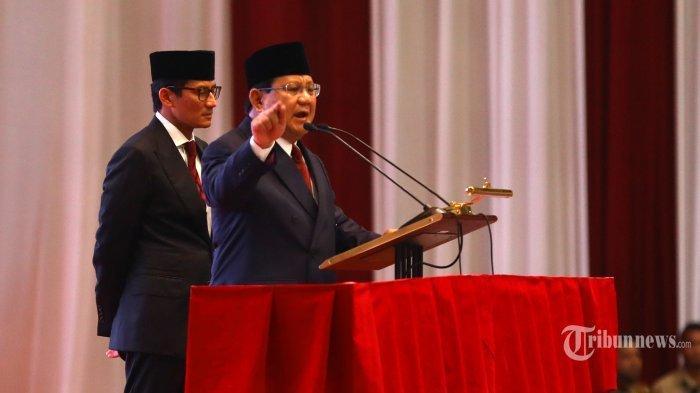Prabowo Ternyata Bisa Terima Hasil Pileg, tapi Tolak Hasil Pilpres 2019