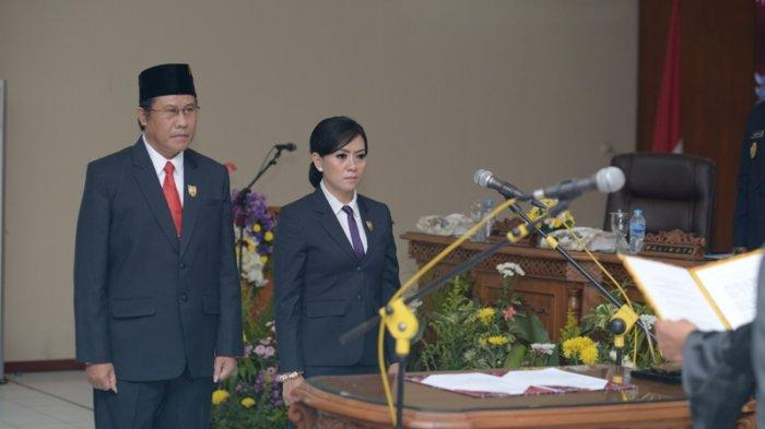 Pimpinan DPRD Dilantik, Dewan Diharapkan Fokus Pembangunan Kota Magelang