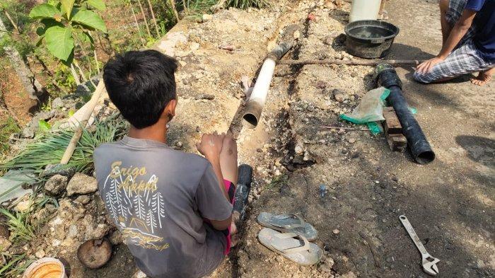 Masyarakat Saptosari Gunungkidul Mulai Alami Krisis Air Bersih