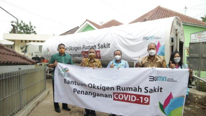 PLN Salurkan 11,9 Ton Oksigen ke Rumah Sakit untuk Bantu Tangani Lonjakan Kasus Covid-19