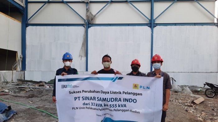 Tingkatkan Produktivitas, PLN Layani Perubahan Daya PT Sinar Samudra Indo