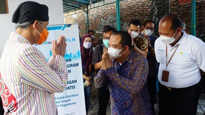 PLN Berikan Bantuan Listrik Gratis di Jawa Tengah