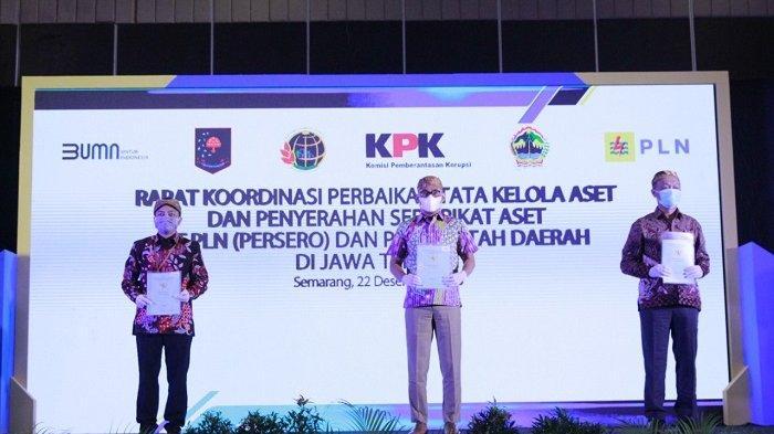 Percepat Pengamanan Aset Perseroan, PLN Berkolaborasi dengan KPK dan Kementerian ATR/BPN