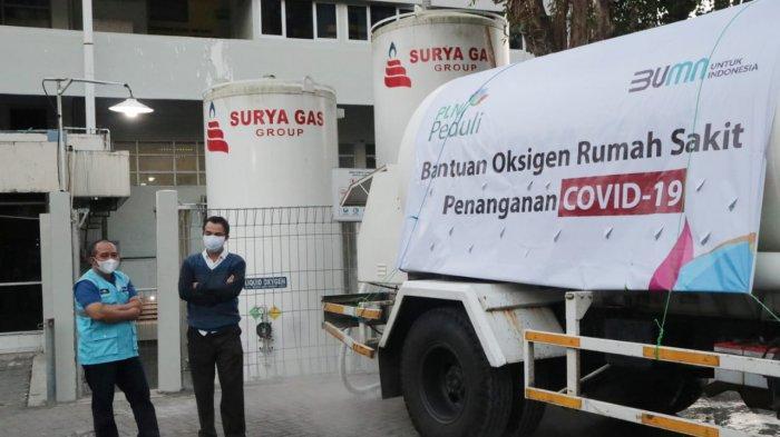PLN Kembali Salurkan Bantuan Oksigen untuk RSUP Sardjito