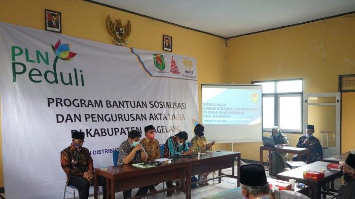 PLN Beri Bantuan Program Tanggung Jawab Sosial dan Lingkungan (TJSL) Pengurusan Akta Lahir
