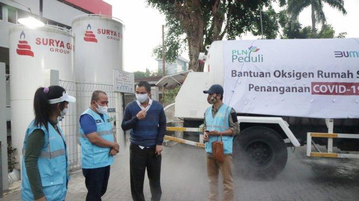 PLN Bantu Atasi Kekurangan Oksigen di RSUP Dr Sardjito, Total Salurkan 8,9 Ton Oksigen