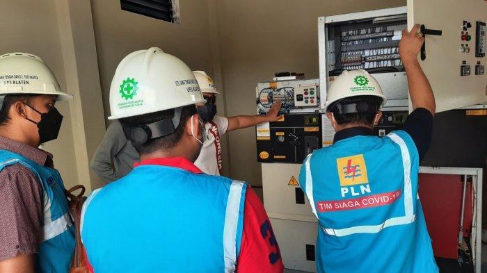 PLN UP3 Klaten Nyalakan Tambah Daya Industri Garmen dari 105 kVA menjadi 865 kVA