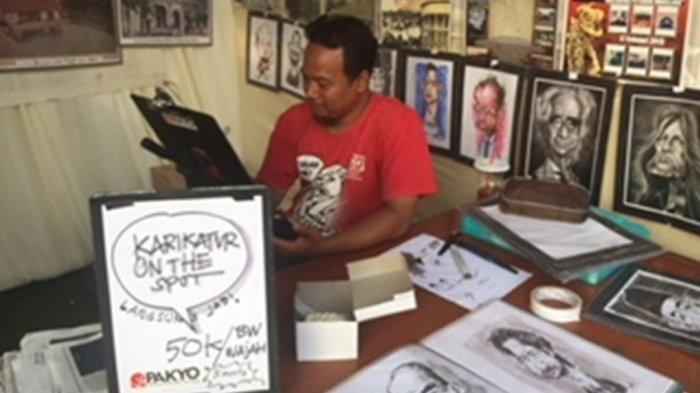 Ingin Edukasi Masyarakat Tentang Karikatur, Poejiyanto Sampai Terbang ke Singapura