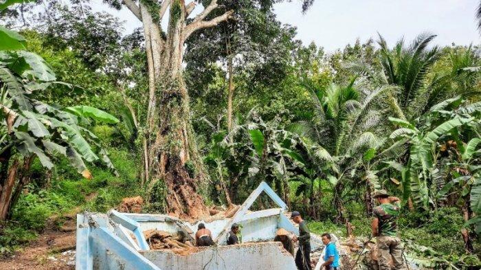 Perbaikan Pamsimas Getas Playen yang Rusak Tertimpa Pohon Beringin, Pengelola Terkendala Anggaran